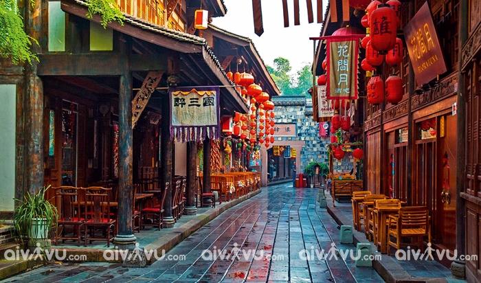 Phố cổ Jinli - Thành Đô