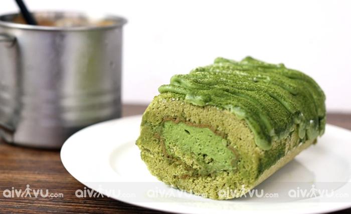 Bánh Gato trà xanh - Nagoya