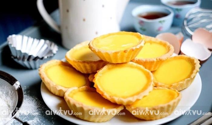 Bánh tart trứng Bồ Đào Nha - Macau