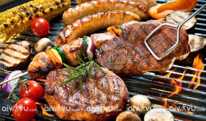 BBQ thú vui của người dân nước Úc