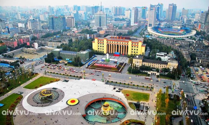 Quảng trường Tianfu - Thành Đô