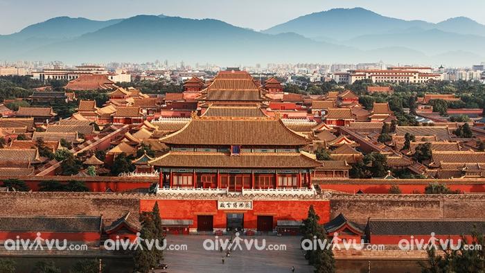 Bắc Kinh thành phố hiện đại và cổ kính
