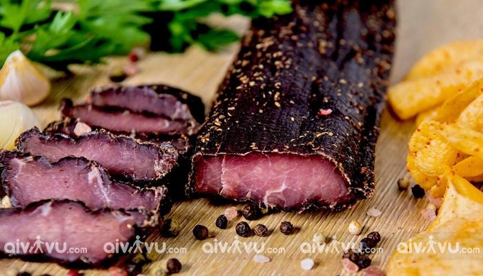 Thịt rừng khô Biltong Nam Phi