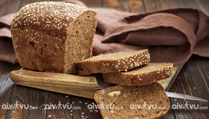Kasha và bánh mì đen