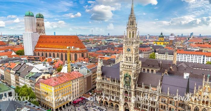 Thành phố Munich - Đức