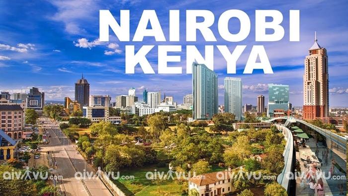 Thủ đô Nairobi - Kenya