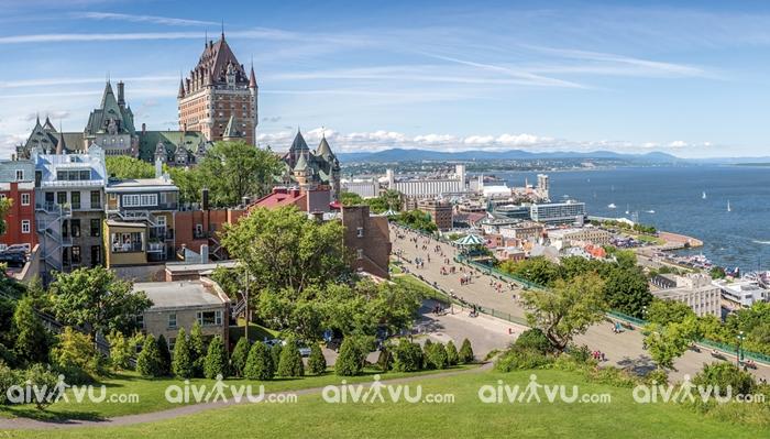 Thành phố cổ Québec Canada