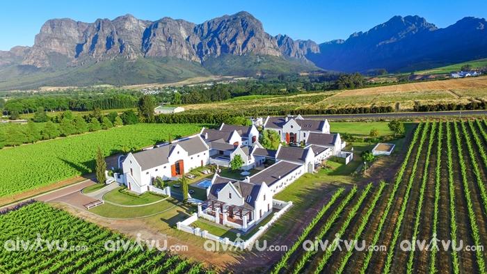 Thị trấn Stellenbosch Nam Phi được ví như một bức họa tuyệt đẹp