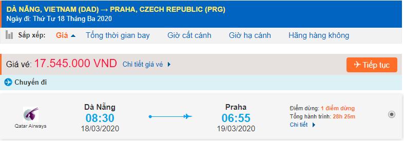 Giá vé máy bay đi Paraha từ Đà Nẵng
