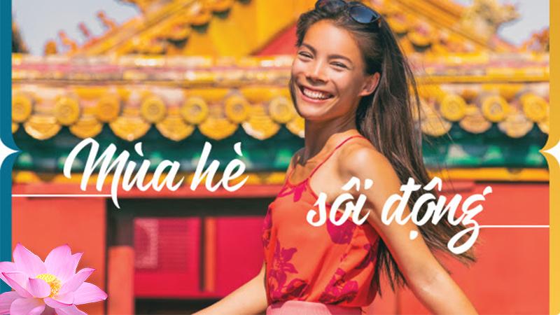 Vietnam Airlines bùng nổ khuyến mãi dịp hè với vé máy bay chỉ 9 USD