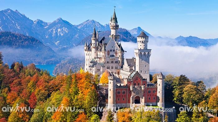 Lâu đài Neuschwanstein - Munich