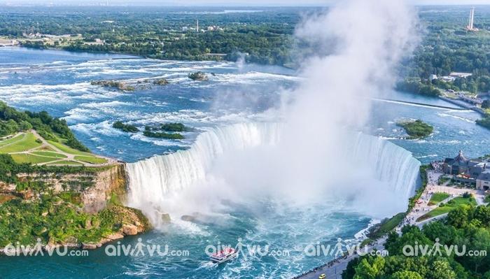 Thác Niagara địa điểm thu hút du khách nhất tại Ontario