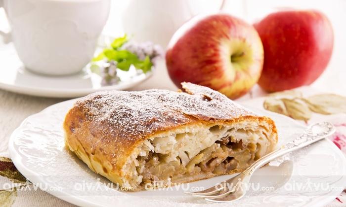 Bánh táo Apfelstrudel
