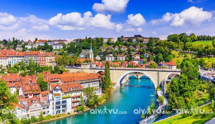 Những thành phố du lịch hấp dẫn tại Thụy Sĩ