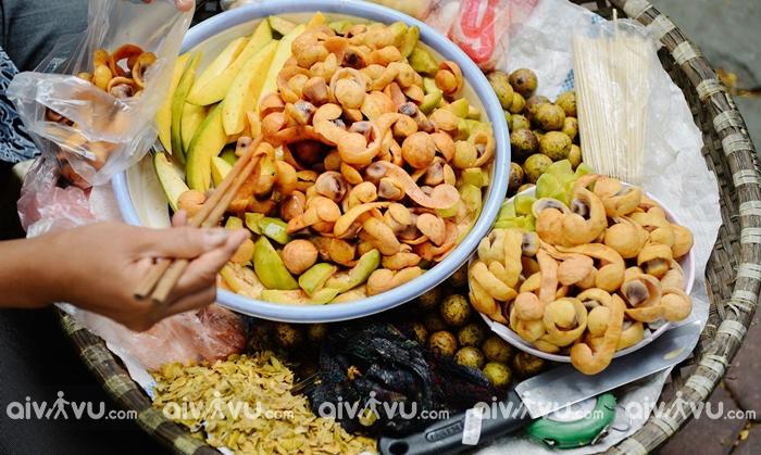 Sấu chín ẩm thực Hà Nội đón thu