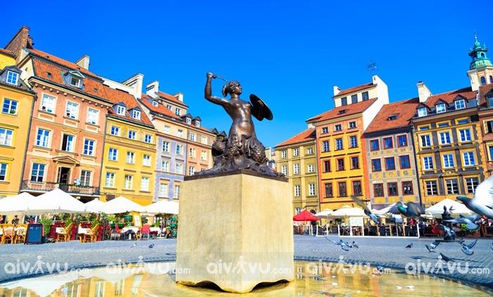 Thành phố Warsaw - Thủ đô của Ba Lan