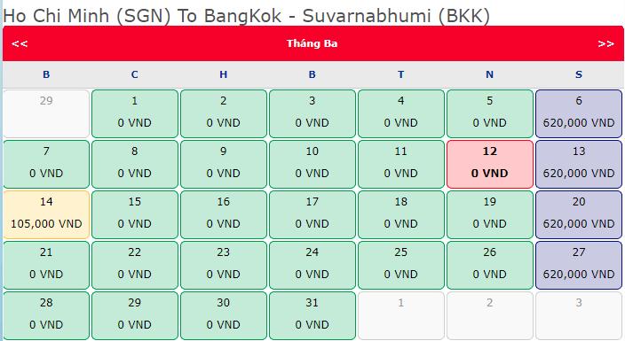 Cùng Vietjet bay đi chờ chi hành trình Hồ Chí Minh đi Bangkok