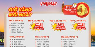 Khởi động cùng Vietjet Air săn vé vàng thỏa sức du ngoạn