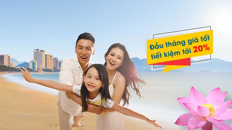Vietnam Airlines chào tháng 8 khuyến mãi 20% giá vé máy bay