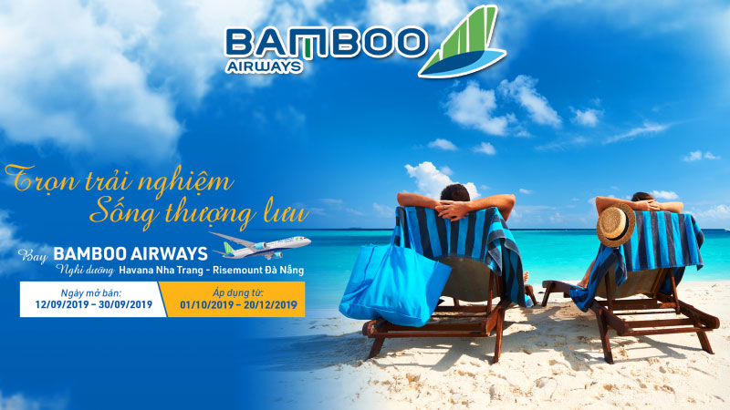 Săn khuyến mãi Bamboo Airways trọn trải nghiệm – Sống thượng lưu