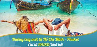 Săn khuyến mãi chỉ 19 USD cùng Vietnam Airlines trải nghiệm Phuket