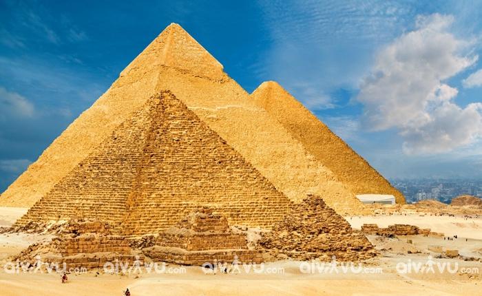 Kim tự tháp nền văn minh Ai Cập cổ đại