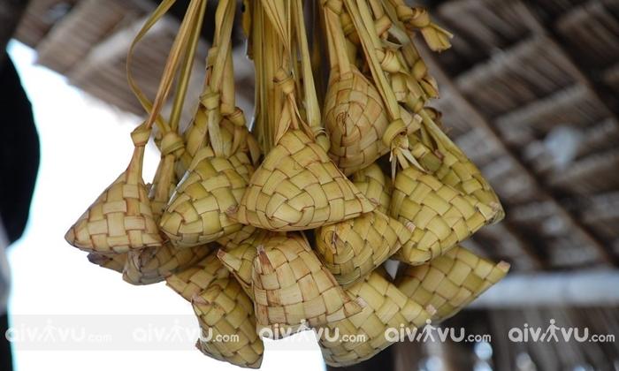 Cơm Puso món ăn hấp dẫn tại Cebu