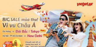 850.000 vé 0 đồng khuyến mãi cùng Vietjet Air vi vu Châu Á