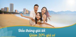 Khuyến mãi đầu tháng giảm 20% giá vé Vietnam Airlines