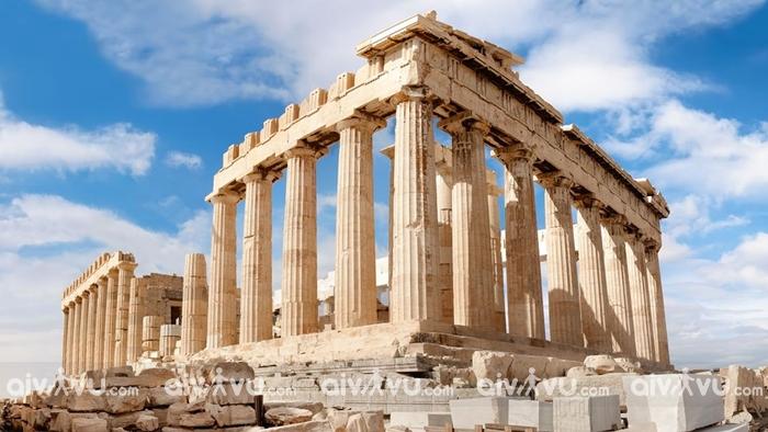 Nền văn minh Hy Lạp có ảnh hưởng nhất trên thế giới