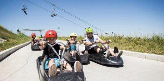 Trải nghiệm hoạt động giải trí trên xe trượt Skyline Tongyeong