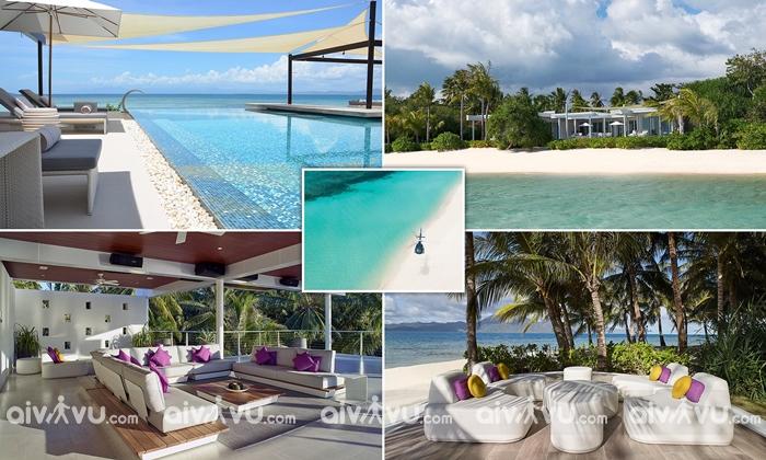Banwa Private Island – resort đắt đỏ nhất thế giới.