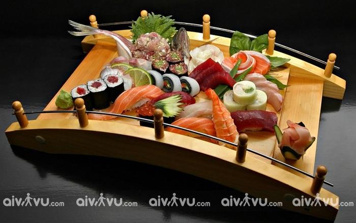 Vương quốc sushi với nhiều loại hấp dẫn