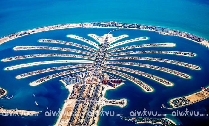 Quần đảo nhân tạo Palm điểm đáng để trải nghiệm tại UAE