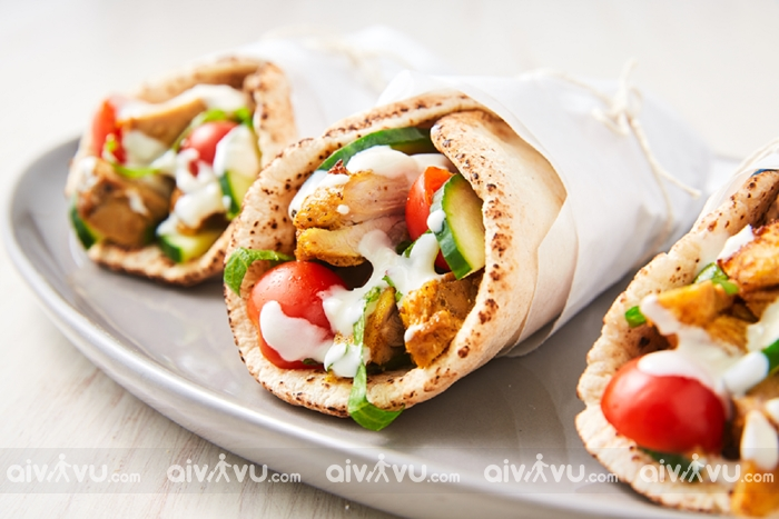 Shawarma ẩm thực tại UAE
