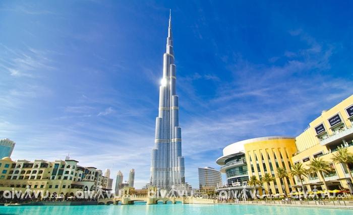 Tòa nhà Burj Khalifa điểm đến thu hút tại UAE