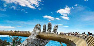 Cầu Vàng - địa điểm hot nhất tại Đà Nẵng trong 2 năm nay