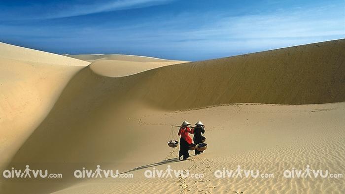 Đồi cát Phương Mai.