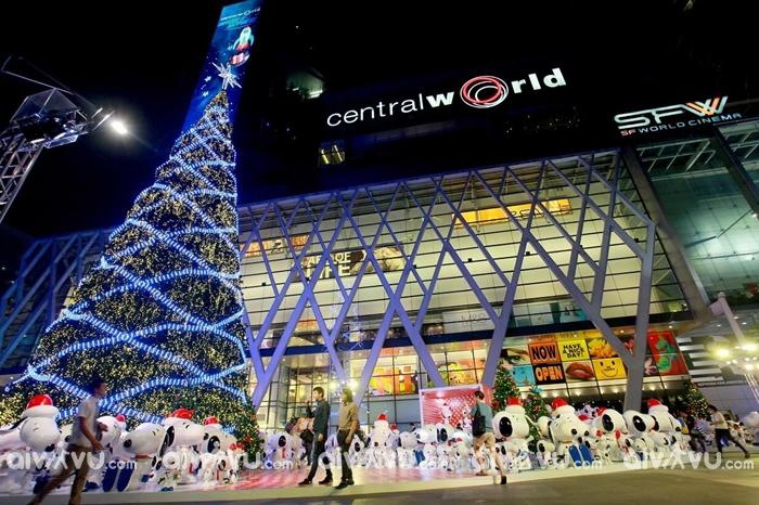 Không khí Giáng sinh tại Thái Lan.