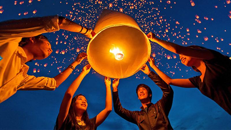 Khuyến mãi giảm 20% lễ hội Loy Krathong giữa Việt Nam và Thái Lan