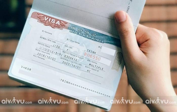 Kinh nghiệm xin visa đi Hàn Quốc tự túc