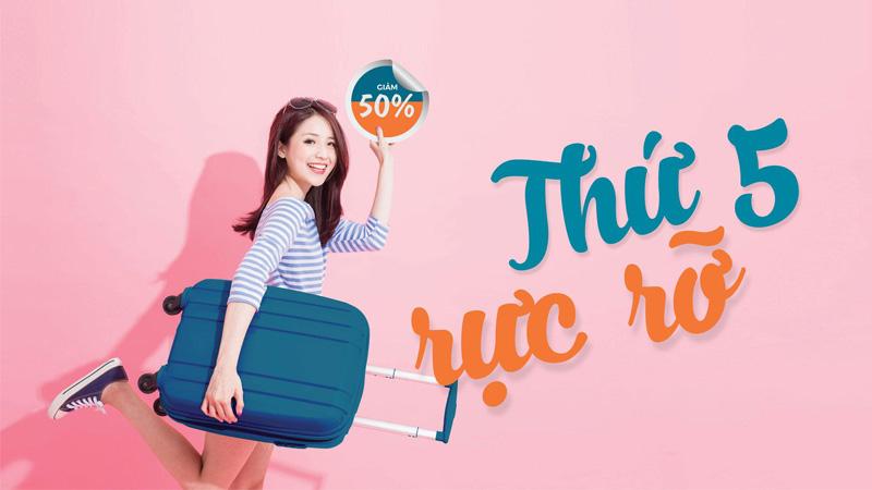 Khuyến mãi hấp dẫn thứ 5 rực rỡ từ Vietnam Airlines