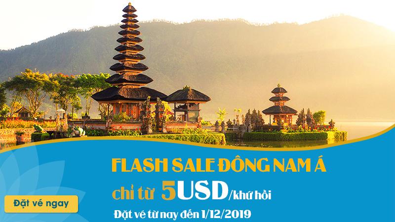 Ưu đãi hấp dẫn từ Vietnam Airlines chỉ 5 USD/ khứ hồi