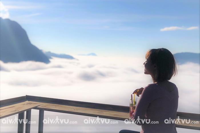 Viet Trekking - quán cà phê view đẹp với biển mây độc đáo