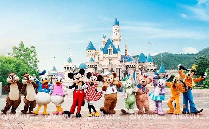 Disneyland – chốn thần tiên xứ cảng