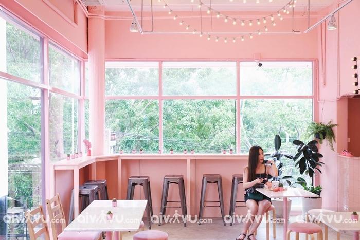 Pinkplanter Café – Quán cà phê xinh đẹp quyến rũ ở Bangkok