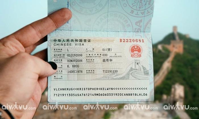 Có bao nhiêu loại visa Trung Quốc, xin visa đi Trung Quốc được bao nhiêu ngày?