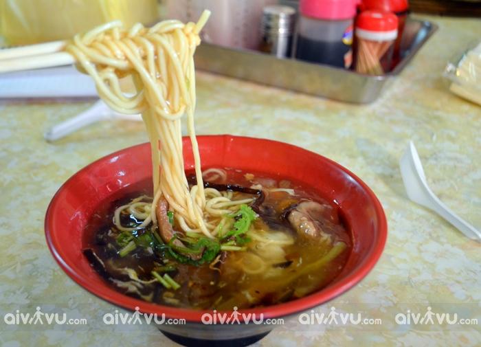 Ẩm thực Đài Loan không thể thiếu mỳ Danzi