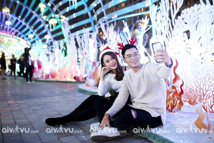 Aeon Mall Long Biên với tổ hợp mua sắm rộng rãi được nhiều người lui tới