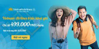 Vietnam Airlines mở bán vé máy bay Tết 2020 chỉ từ 499.000 VND